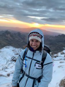 Anna Hemmings Overcoming adversity to see the sunrise on Mount Kenya